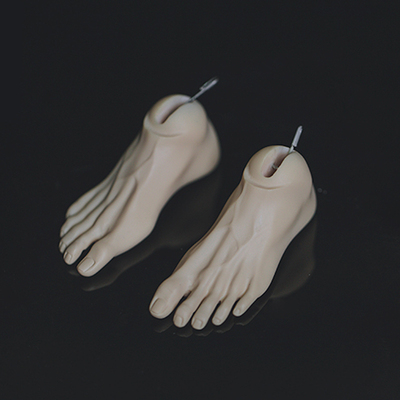taobao agent Ringdoll official accessories clogs feet RGfeet01 BJD doll SD doll for uncle body use