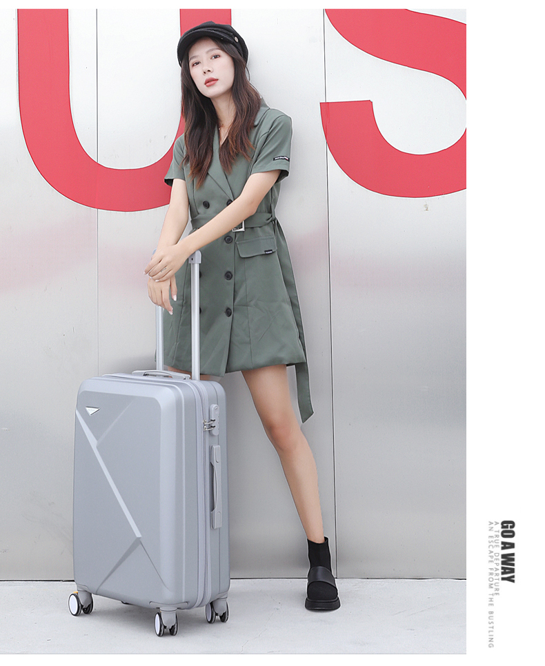 行李箱女小型子母拉桿箱网红新款寸男旅行密码皮箱学生潮详细照片