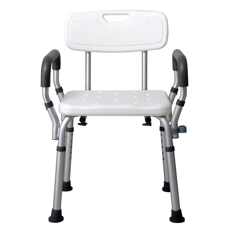 USD 25.94] Elderly folding shower chairs shower chair disabled Bath ...