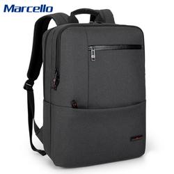 MARCELLO双肩包男士商务背包笔记本电脑包韩版时尚旅行包书包新款
