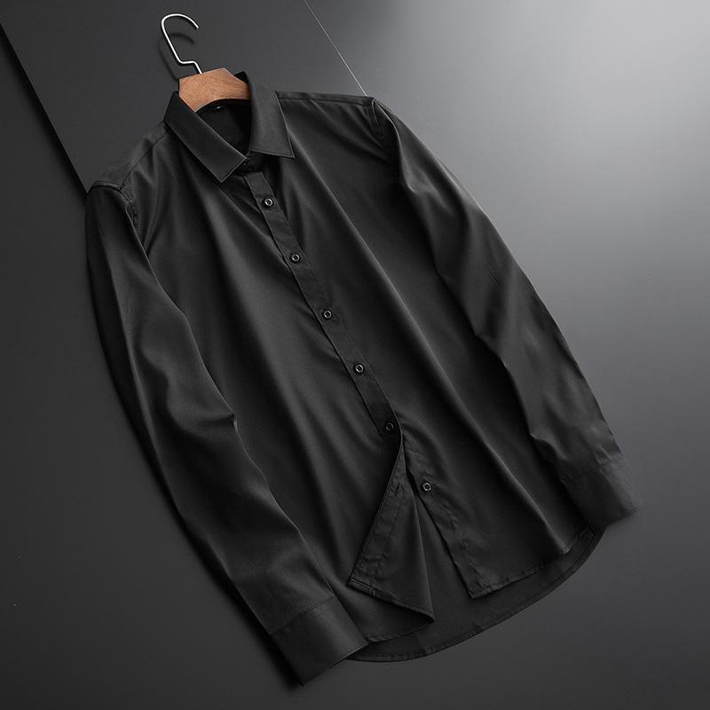 真丝休闲衬衫