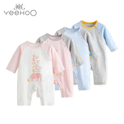 ff3493b39 British baby onesies spring and autumn men and women baby clothes ...