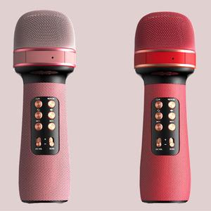 无线蓝牙麦克风话筒音响一体手机唱吧全民K歌多音效直播声卡设备