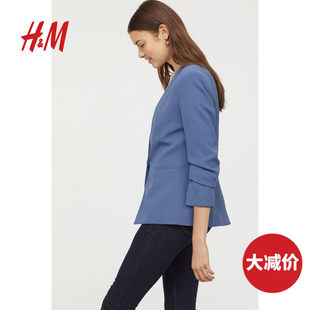 HM women's suit spring and autumn casual slim-fit jacket women 0708067