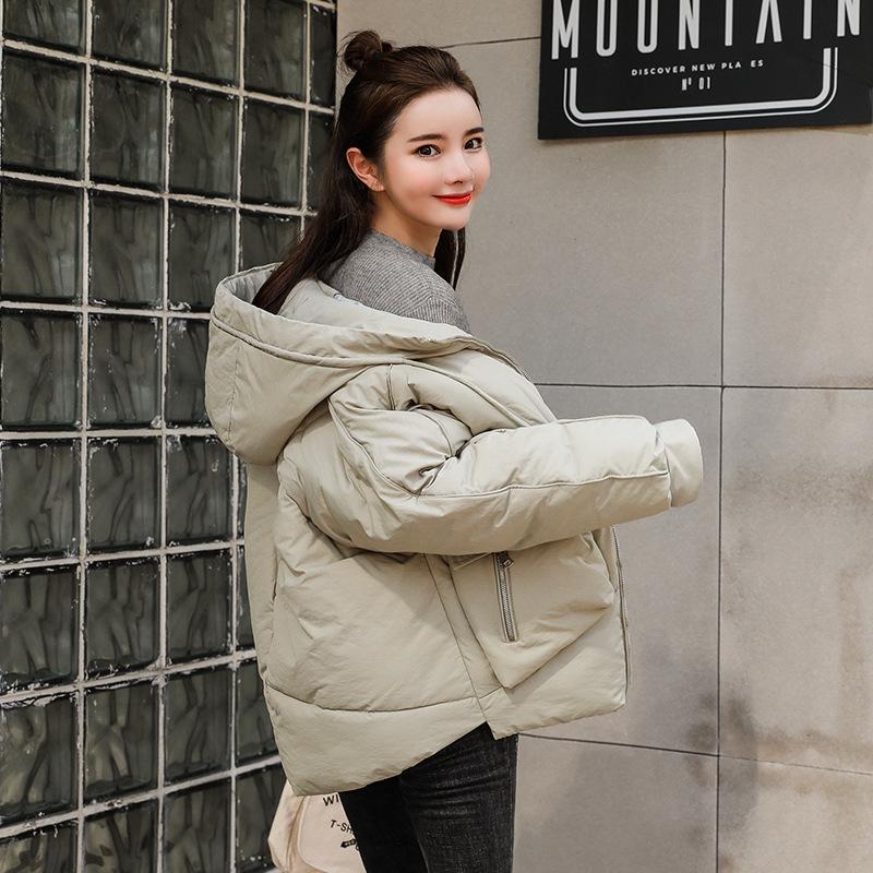 15冬装12大童13少女孩外套14岁初中学生棉服17冬季16加厚棉衣棉袄
