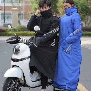冬季温暖骑行,电动车挡风被不能少