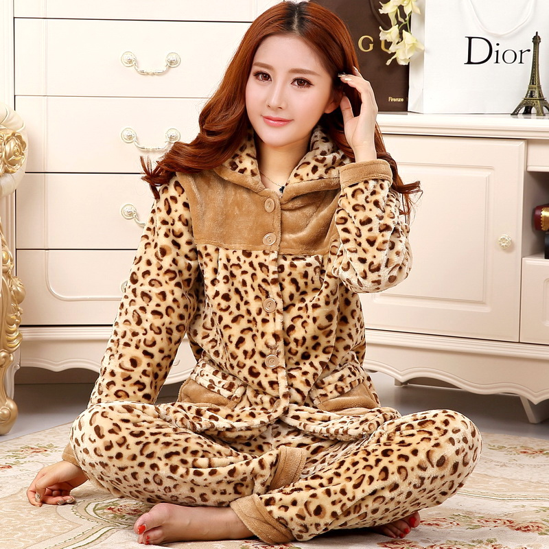 9502a480b9 ... pajamas female autumn and winter coral velvet upgrade flannel cute home  service long-sleeved. Zoom · lightbox moreview · lightbox moreview ·  lightbox ...