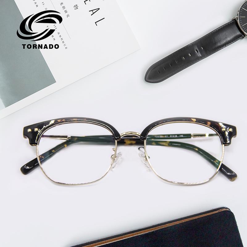 近视眼镜男复古防蓝光有度数眼镜架防辐射电脑护目镜女配镜眼睛框