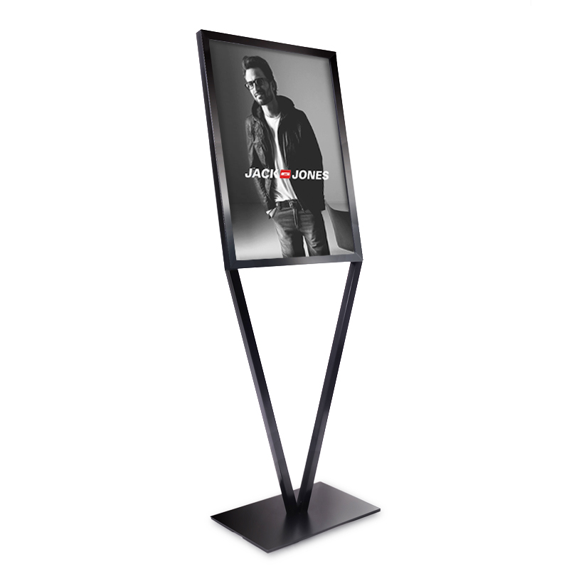 Office & School Supplies Floor Sign Stand A3 Floor Poster Menu Frame Lifting Billboard Hotel Door Guide Advertising Banner Floor Stand Signage Rack