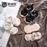 Детские сандалии мужской Лето 0-1-3 лет ребенку нескользящие Мягкий низ женский новая коллекция башмак пакет руководитель на младенца Обувь для малышей 2