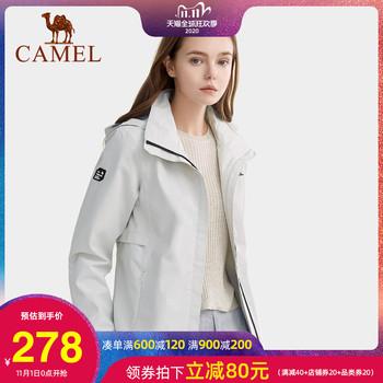 Верблюд на открытом воздухе пальто женский осенний новый сезон электромагнитная печь однослойные тонкие куртка прилив бренд восхождение одежда для предотвращения ветровой вода путешествие одежда, цена 6035 руб