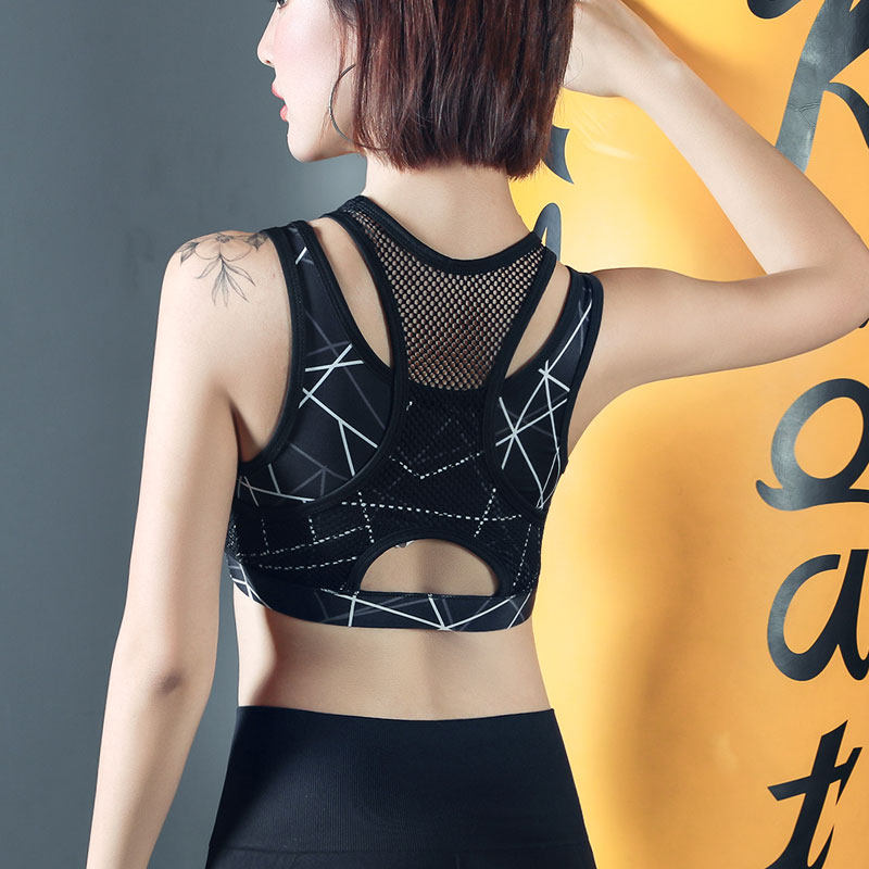 6f7ea602a025 High-strength shockproof beauty back sexy quick-drying running vest ...
