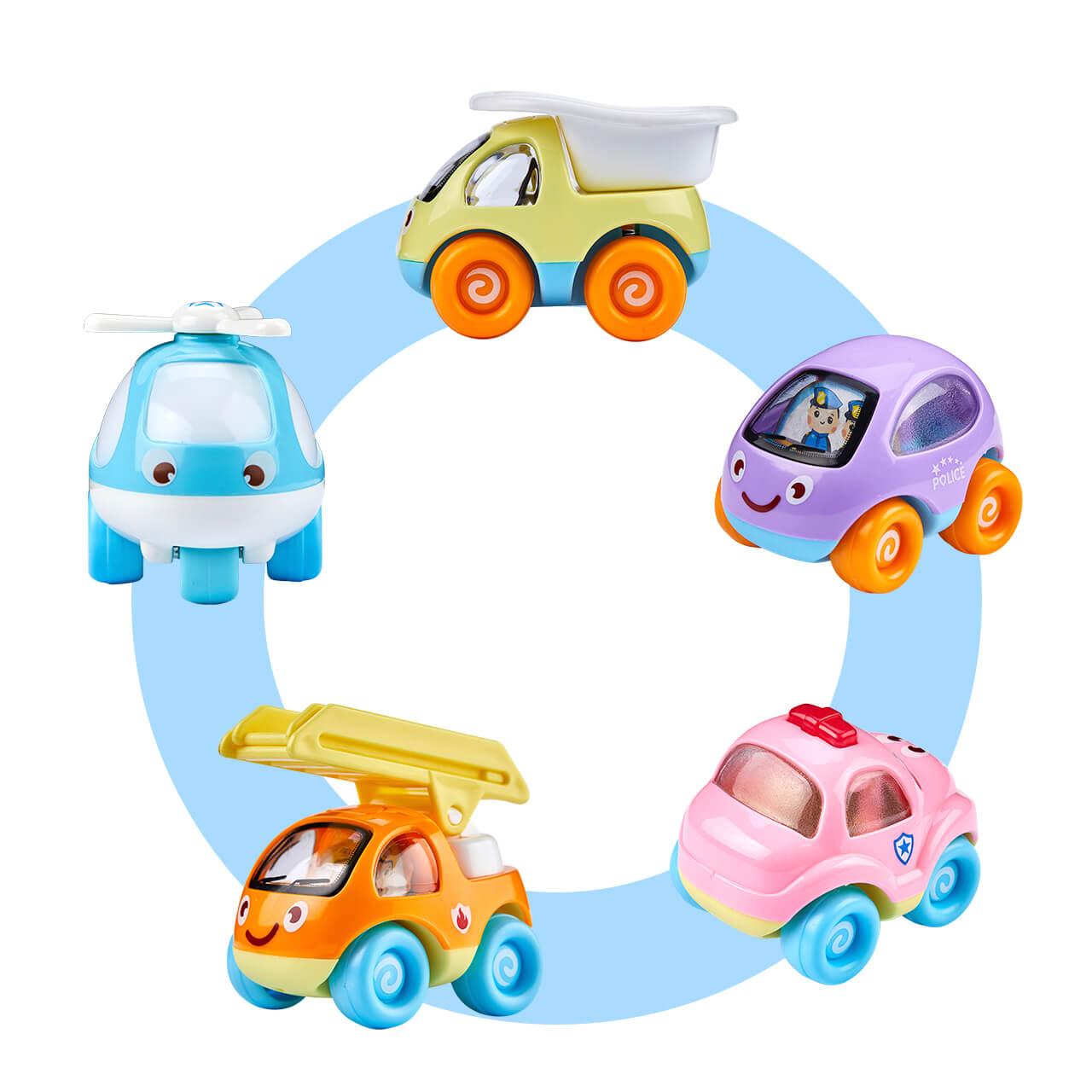 【61节1元秒杀】儿童玩具车 男女惯性小汽车宝宝益智玩具8只装