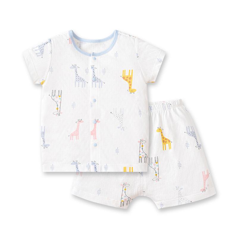 【好孩子】儿童夏季新品短袖短裤家居服套装