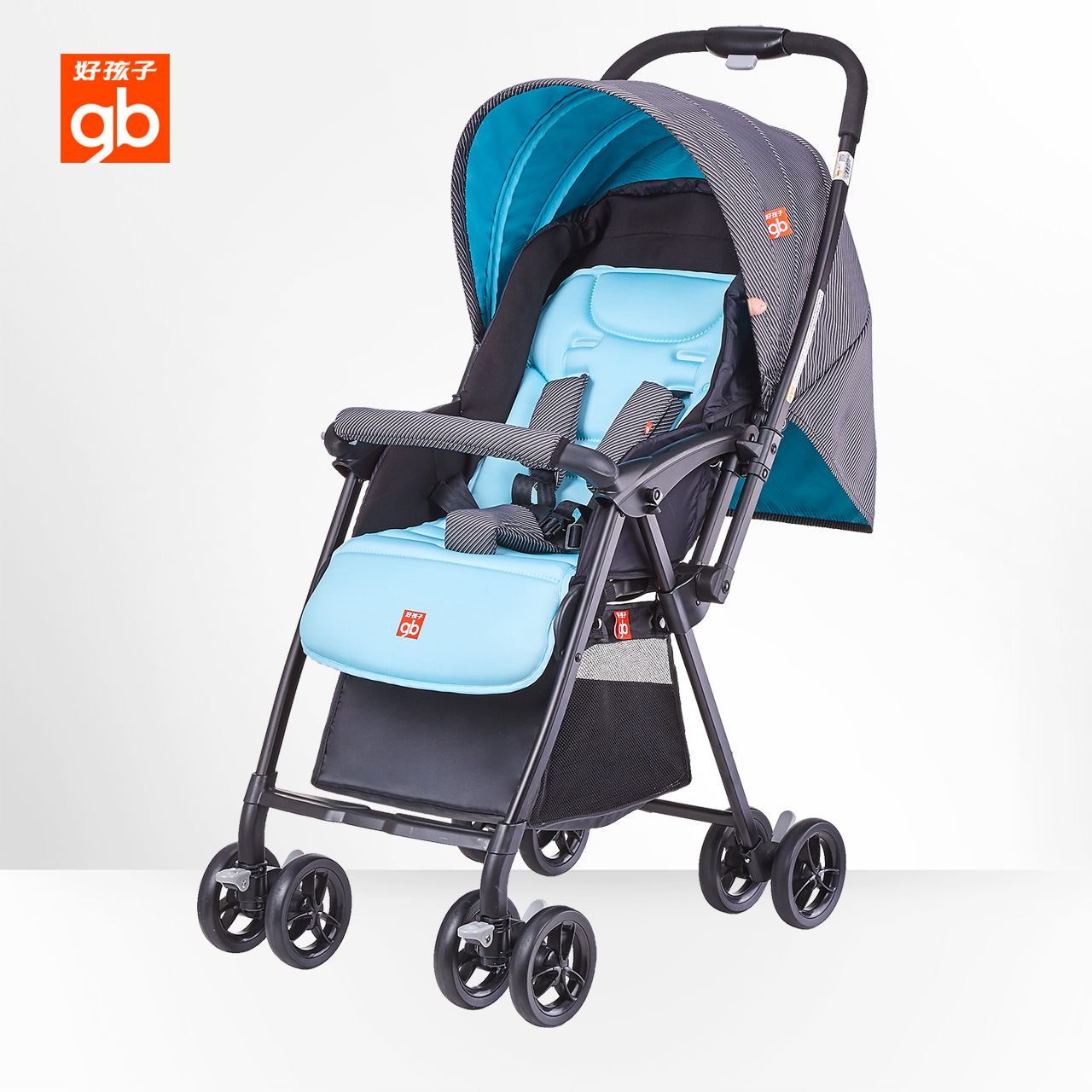 gb好孩子超輕嬰兒推車輕便傘車可坐可躺折疊便攜推車D829-A