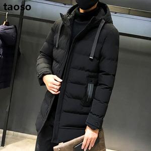 【TAOSO】韩版新款冬季棉衣外套中长款
