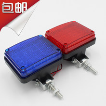 Shipping car high-bright warning lights motorcycle square form school bus warning lights car led flashing lights front bumper