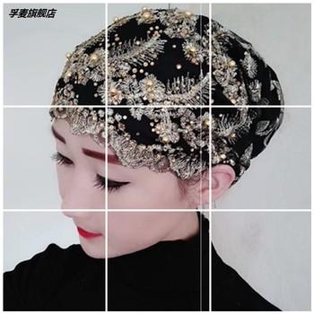 Истман орхидея возвращение люди крышка торжественный мусульманин мисс одежда шляпа возвращение гонка шарф женский хиджаб тонкие осенью марля, цена 943 руб