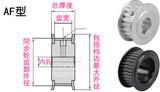 Пользовательский хронометр товар в наличии Синхронное колесо 5M 8M 3M 14M 2M XL MXL L H T5 T10 T20