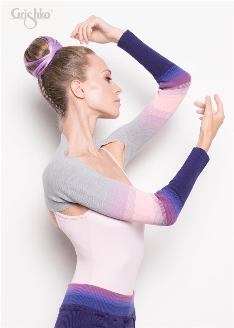 Verto Ba lê Nga Grisko Múa Ba lê Yoga Cơ thể Áo len Vai ấm 06201 - Khiêu vũ / Thể dục nhịp điệu / Thể dục dụng cụ