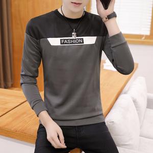 【卡瓦度】秋季长袖T恤男上衣打底衫