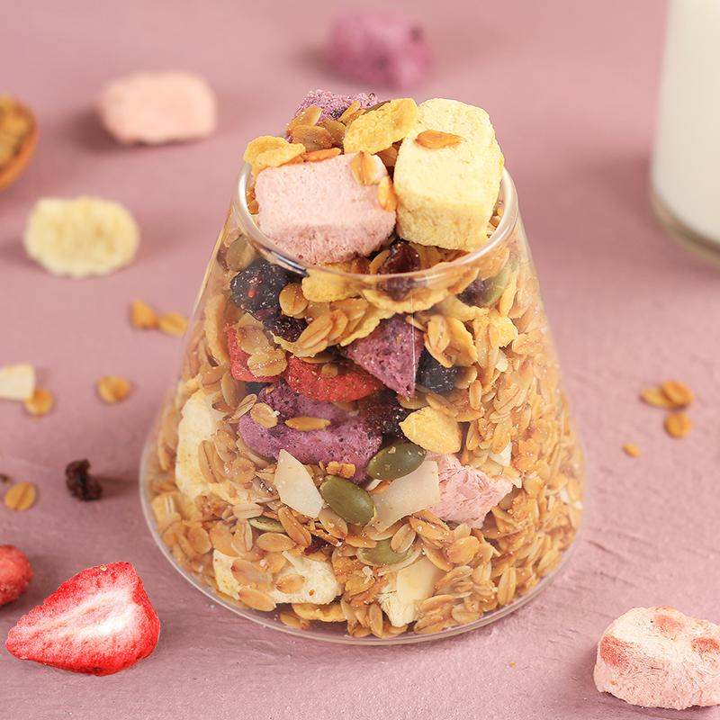 酸奶果粒燕麦片袋装代餐早餐营养烘焙麦片