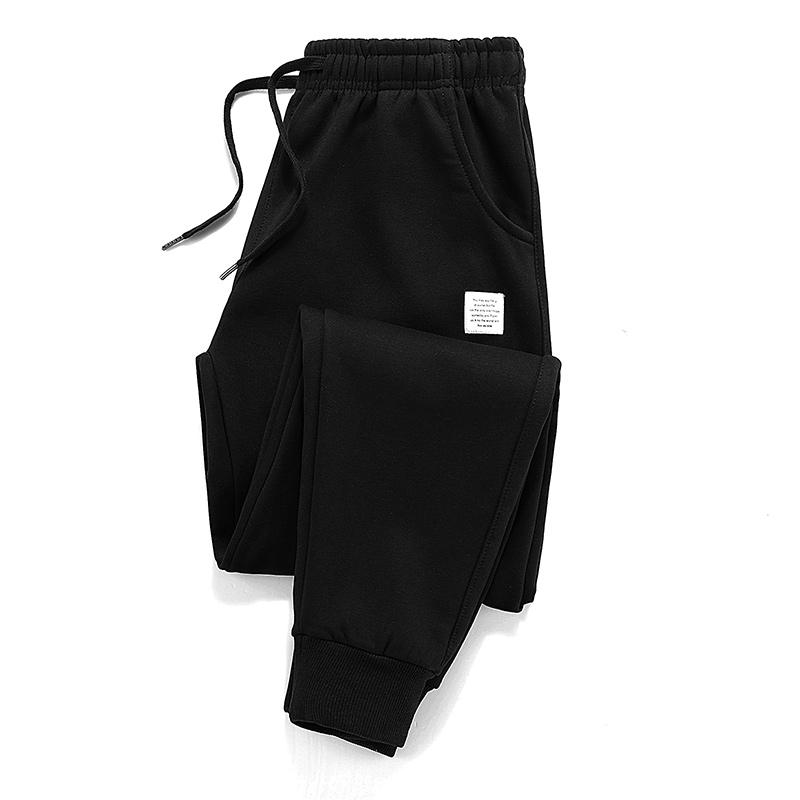 加厚宽松休闲卫裤男松紧腰潮流运动束口小脚裤Men's trousers_天猫超市优惠券