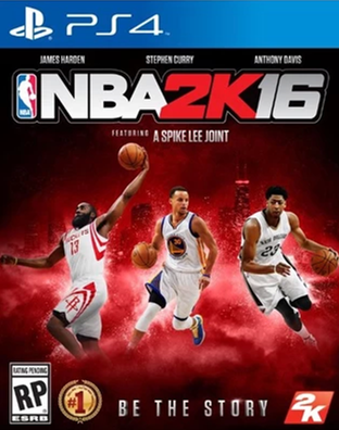 【美国职业篮球2K16】(NBA 2K16)简体中文免安装硬盘版 + 5号升级破解补丁[压缩包]