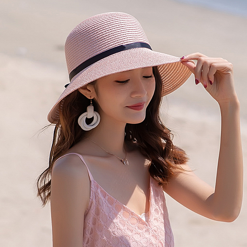 Pink fisherman hat