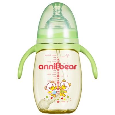 【安奈小熊】新生儿PPSU奶瓶宽口径
