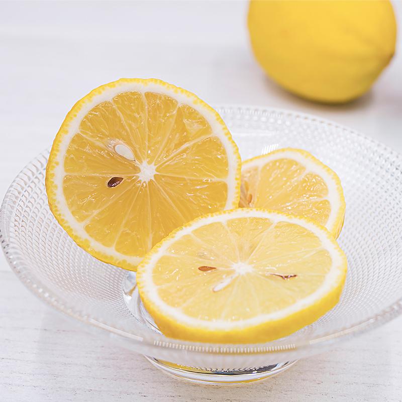 10个一级中小果四川安岳黄柠檬皮薄多汁当季新鲜水果整箱批发包邮_领取5元天猫超市优惠券