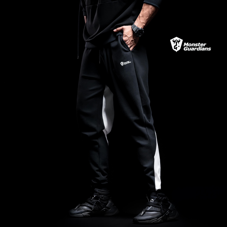 Monster Guardians mùa xuân quần thể thao nam tập thể dục xu hướng quần bảo vệ giản dị - Quần thể thao