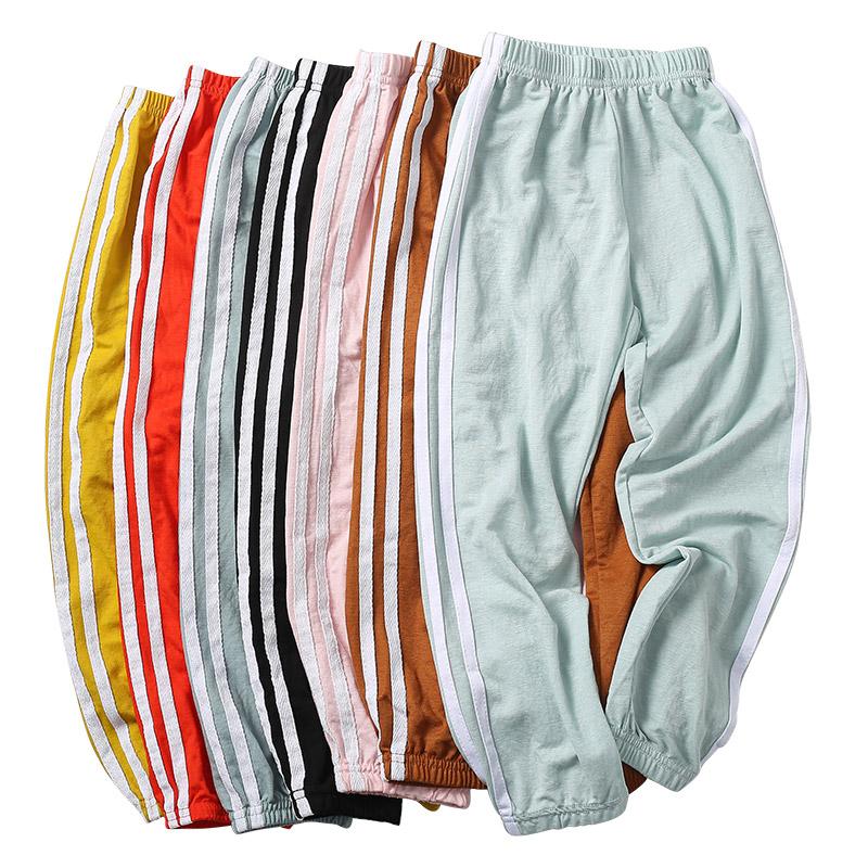 儿童夏季冰丝休闲运动防蚊裤