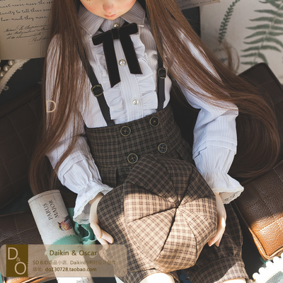 taobao agent DO bjd baby clothes sd10 13 men and women dd3 points 4 points msd6 points yosd card meat gem British bib suit