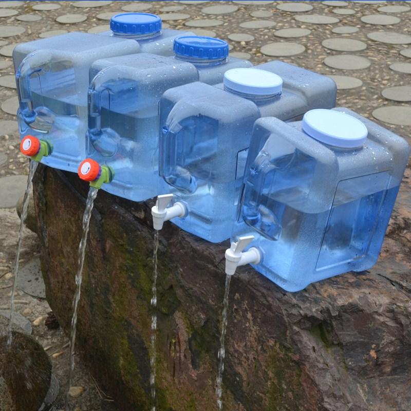 Cấp thực phẩm dày nhựa lưu trữ xô lớn dung tích lớn hình chữ nhật thùng ngang có nắp thùng lớn - Thiết bị nước / Bình chứa nước