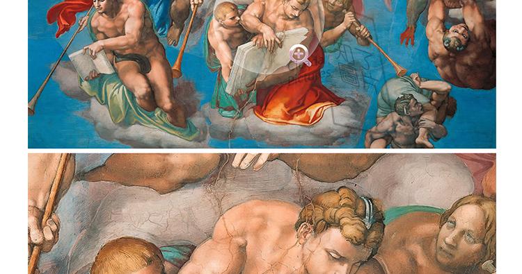 米开朗基罗 高清油画图片素材电子版文艺复兴装饰画喷绘打印临摹插图(9)