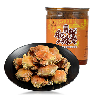 【买二送一】香辣蟹海鲜大闸蟹罐头300g