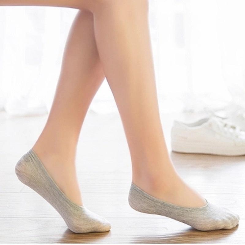 【5双】隐形袜子女浅口防滑硅胶-券后15.80元