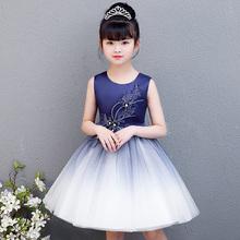 新款公主裙蓬蓬背心纱裙花童礼服