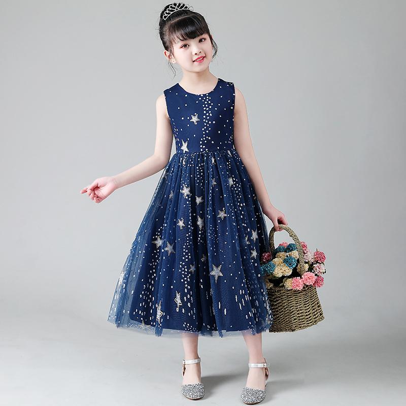 童装公主连衣裙2020新款纱裙女童裙洋气韩版蓬蓬裙网红中长款夏装