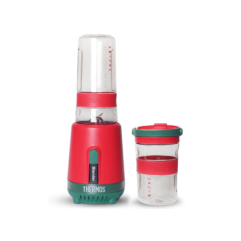 膳魔师多功能料理机家用搅拌机婴儿辅食机双杯果蔬榨汁电动果汁机