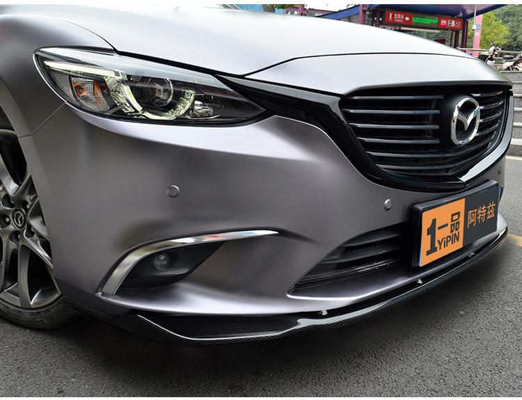 Ốp cản trước và nẹp hông Mazda 6 2014 - 2019 - ảnh 14