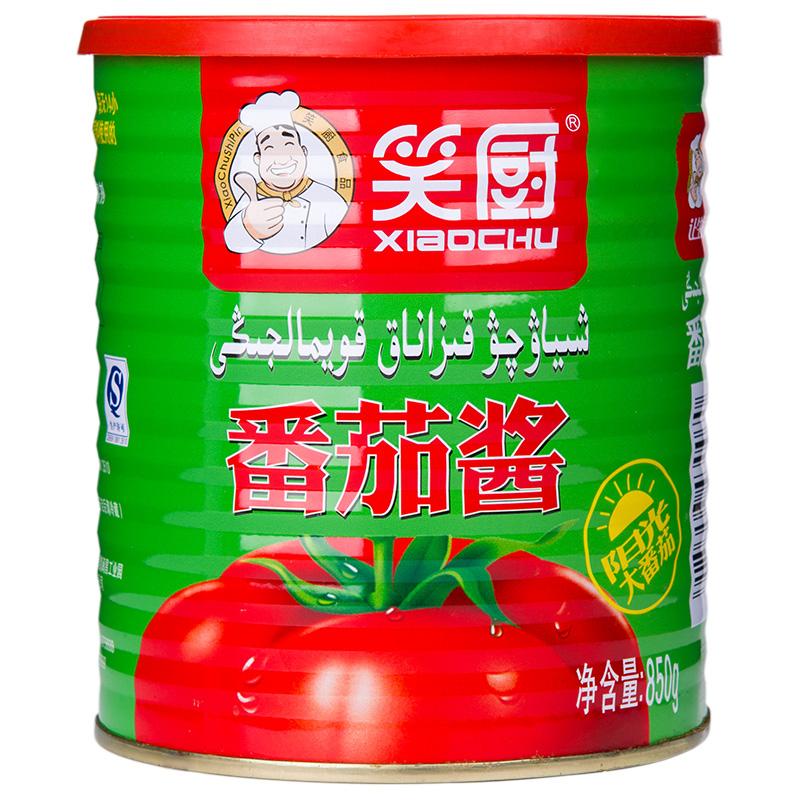 笑厨新疆无添加番茄酱850g