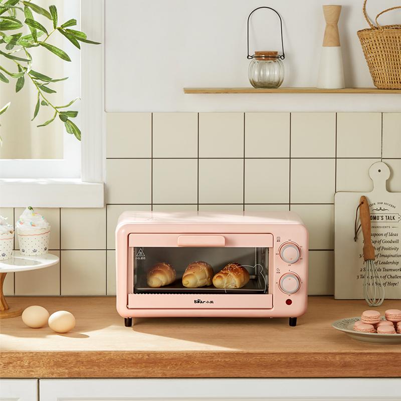 小熊烤箱家用小型双层小烤箱烘焙
