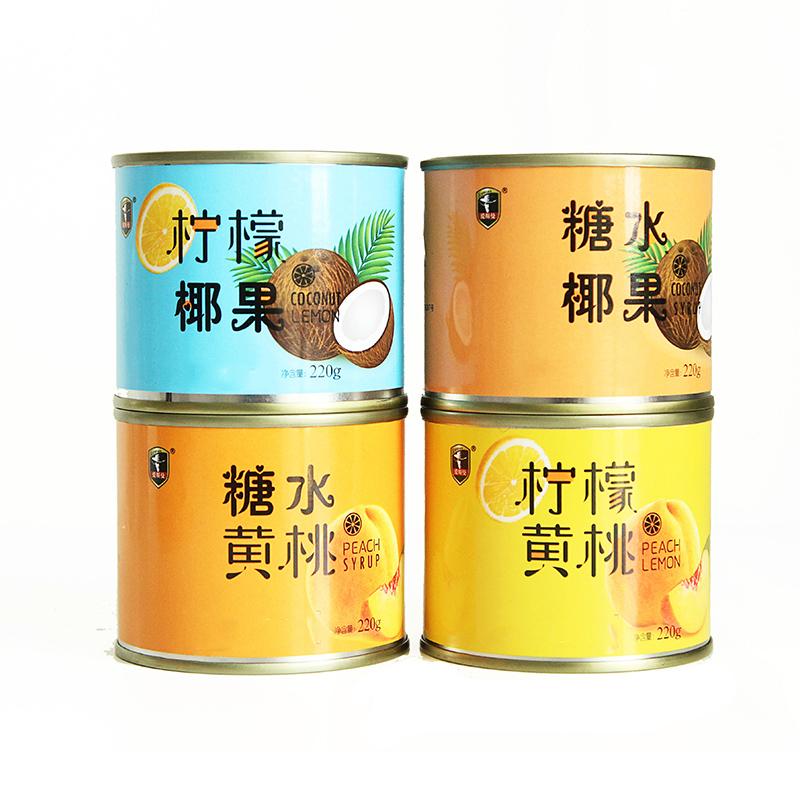 【为你寻找】水果罐头4罐混合装整箱