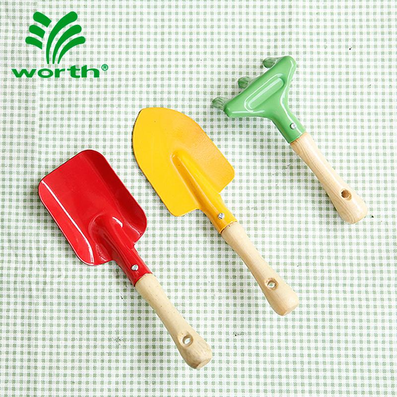 Worthworth Садоводство кислотный детские Инструмент 3 наборы Горшечная суккулентная посадка деревянной ручкой лопатой скорпиона комплект