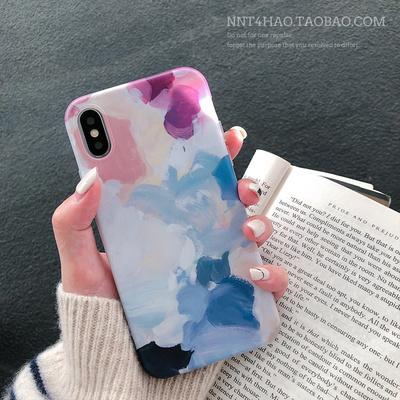 梦幻少女心iPhone xs max手机壳潮清新苹果6splus/7/8/x/xr保护壳