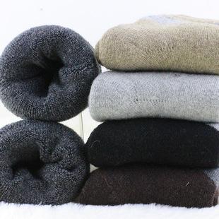 5双日系秋冬季加厚毛圈袜加绒袜子