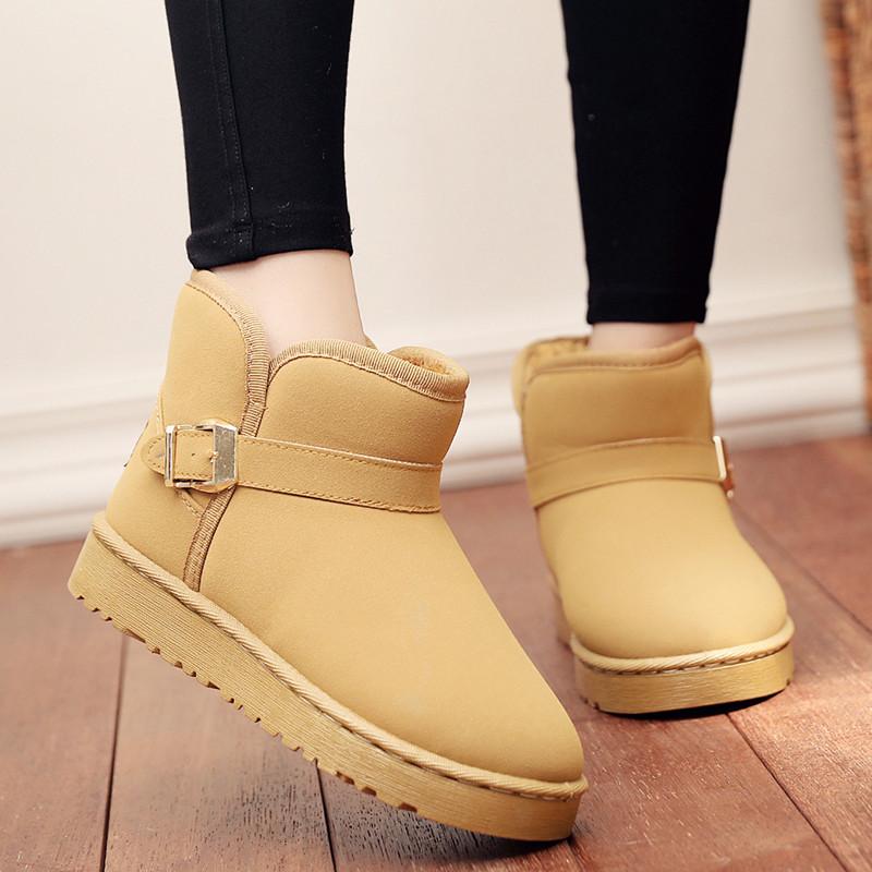 2020新款冬季可爱儿童鞋亲子雪地靴