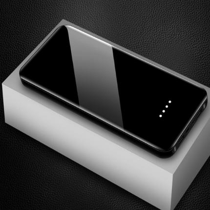 手机通用充电宝20000毫安聚合物2.1安快充超薄移动电源抖音网红款